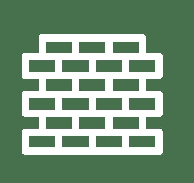 Masonry Chimney Repair Service Brick Icon