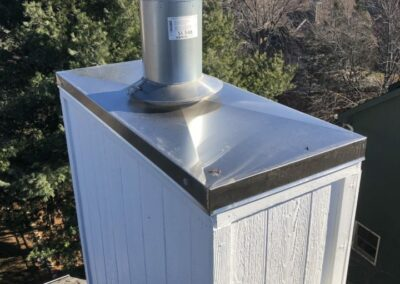 After Chimney Chase Repair
