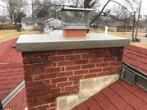 Bonner Springs Updated Crown and Cap after repairs