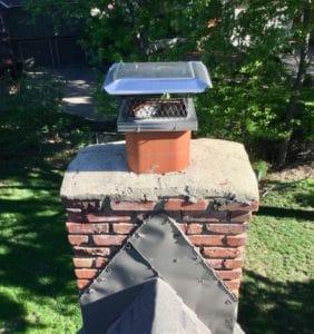 Brick Chimney in Overland Park, KS