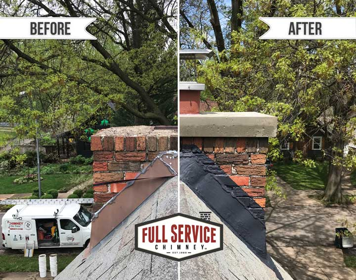 Chimney-Before-After-Flash-Seal-Repair