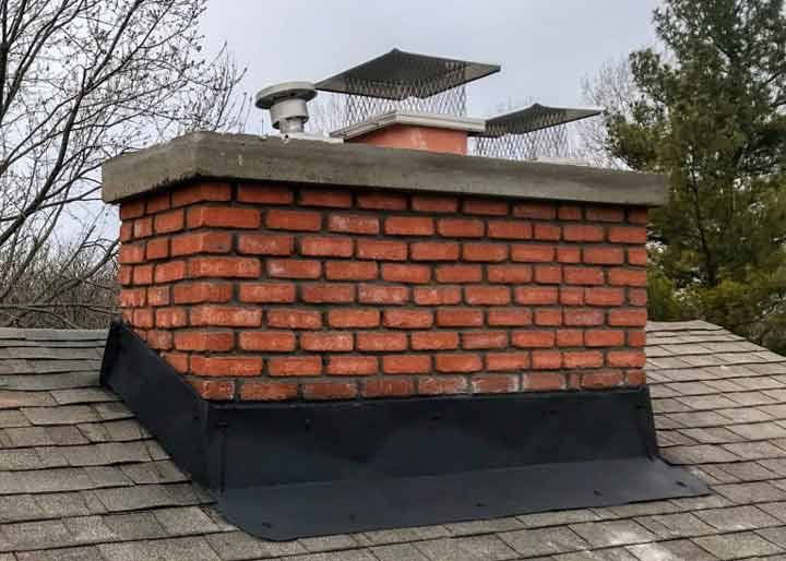 Chimney Flashing Repair Full Service Chimney Kansas City