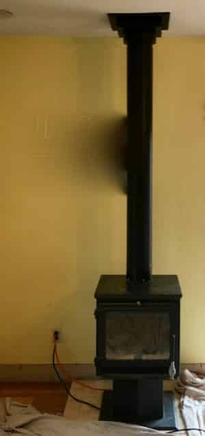 Woodburning Stove in Edwardsville