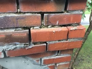 Masonry in Need of Repair