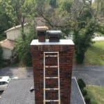 Updated Fairway Chimney with Caps Repair