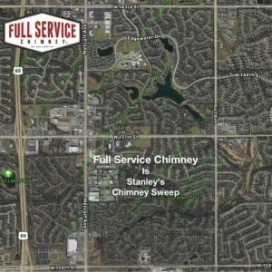 Full Service Chimney is the Stanley KS Chimney Sweep