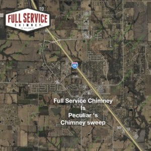 Full Service Chimney is the Peculiar, MO Chimney Sweep