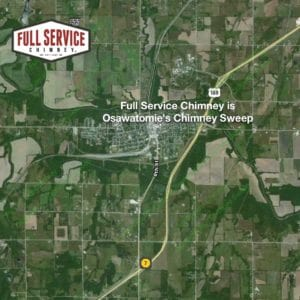 Full Service Chimney is the Chimney Sweep for Osawatomie, KS