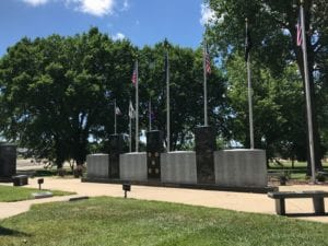 Veterans Memorial in Paola