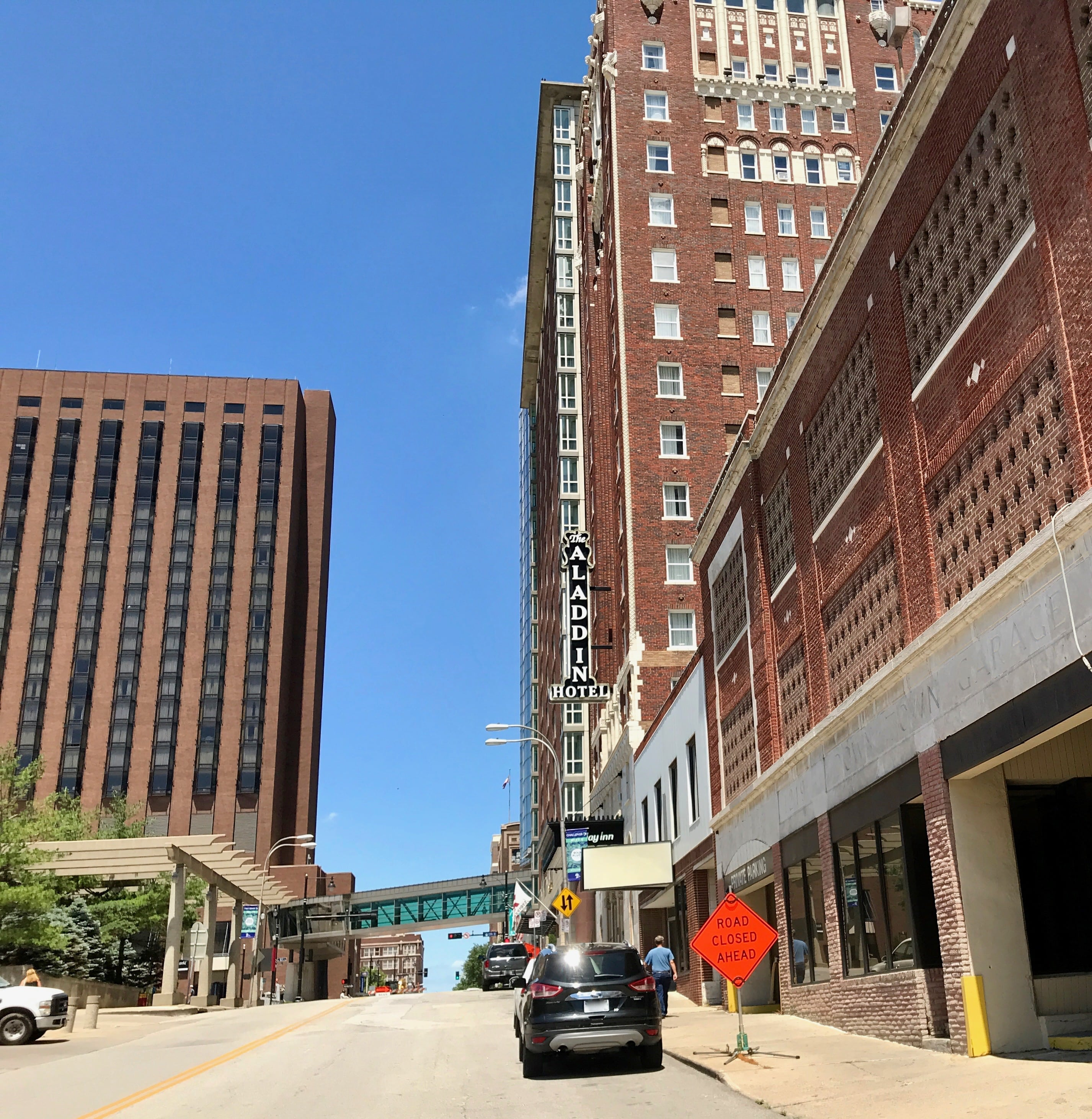 Downtown Street in KCMO