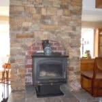 Wood-burning Fireplace in Leavenworth