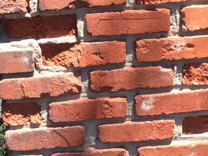 Lenexa, KS Recycled Brick Chimney Needs Repair
