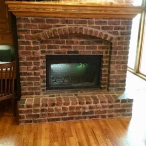 Masonry Fireplace in Louisburg