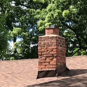 Brick Damage in Louisburg needs repairs