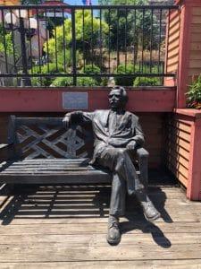 Mark Twain Statue Parkville MO