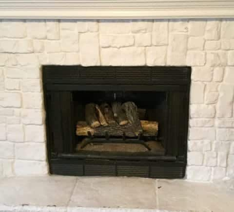 Updated Gas Fireplace