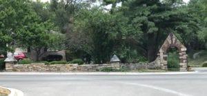 Mission Hills Neighborhood street-side masonry work