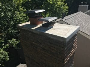 New Crown and Overhang by Full Service Chimney Sweeps