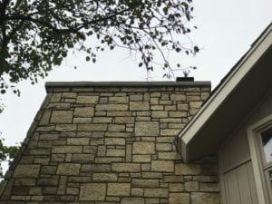 stone masonry chimney