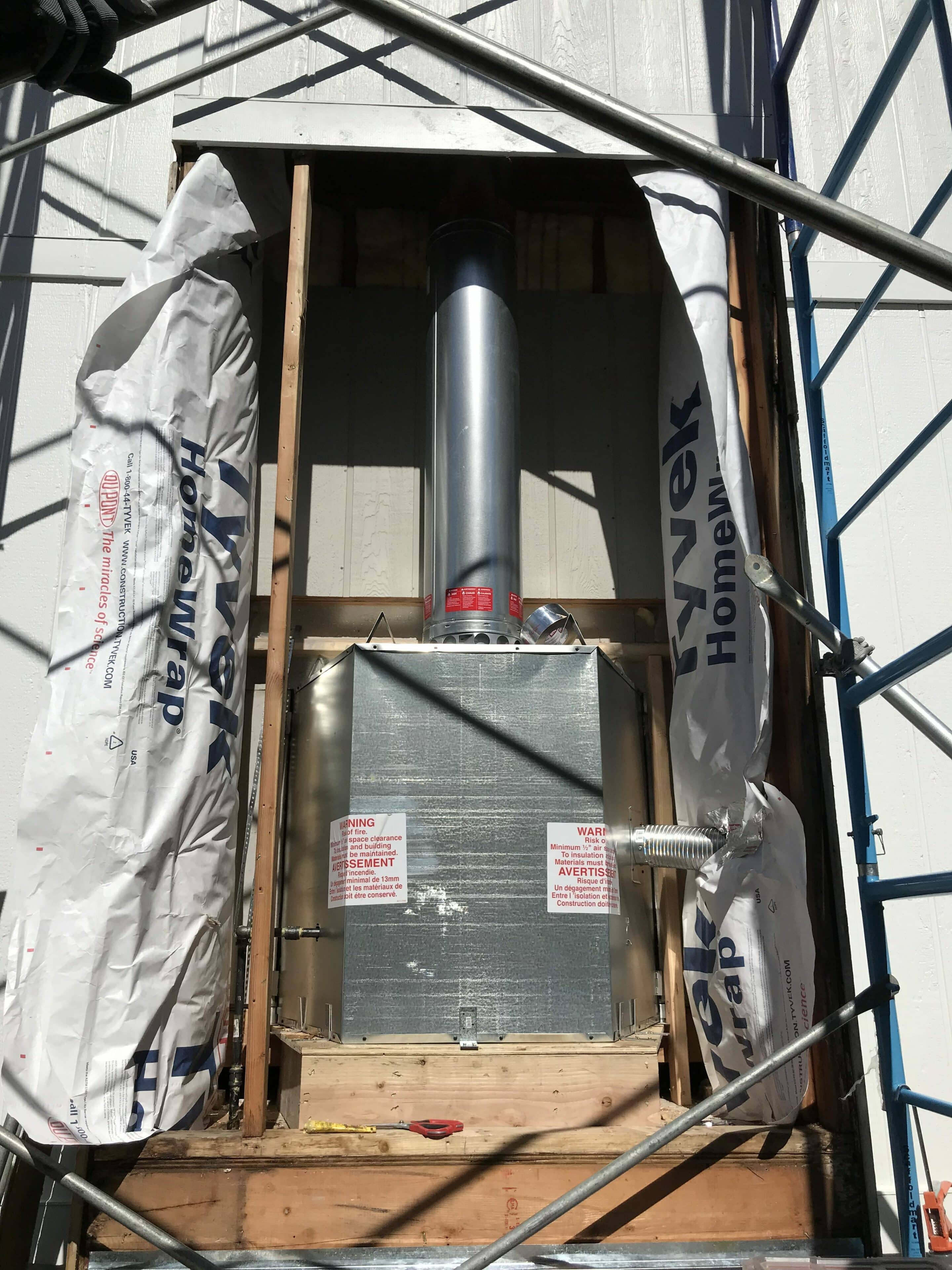 Prefab Fireplace Install In Overland Park Full Service Chimney