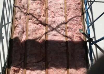 Prefabricated Chimney Insulation installed correctly for safety