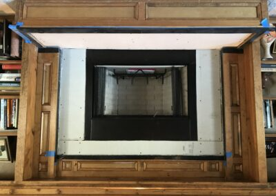 Prefabricated Fireplace Install