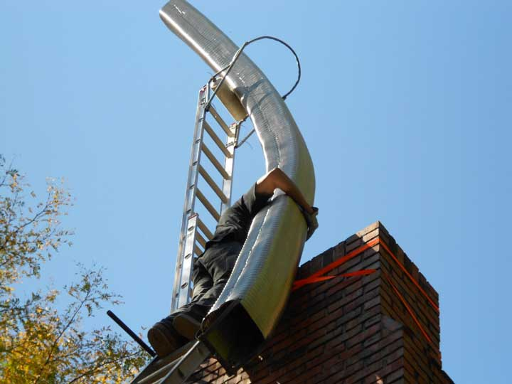 Chimney Liner Installation in Kansas City