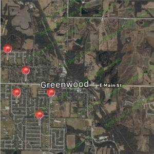 Satisfied Customer Map-Greenwood MO-Full Service Chimney