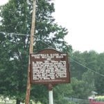 Stilwell Historical Sign