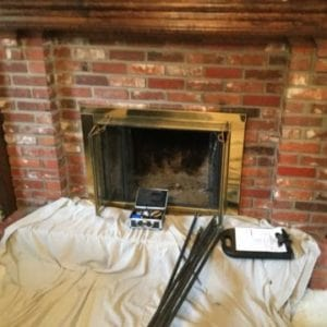Fireplace Inspection by Full Service Chimney Sweep in Stilwell