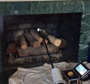 Chimney Sweep Fireplace Inspection in Loch Lloyd