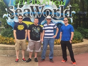 While attending the NSCG Convention, our technicians had some fun at Sea World