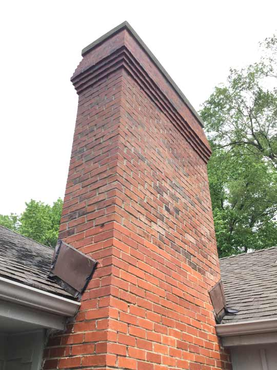 Masonry Chimney Rebuild