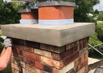 Chimney Cap Crown Repair by Full Service Chimney