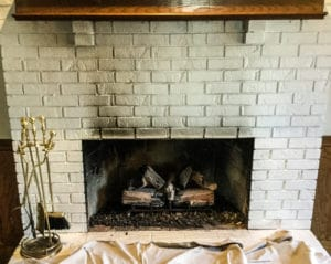 Soot Above Fireplace is a Warning Sign Your Chimney is in Trouble
