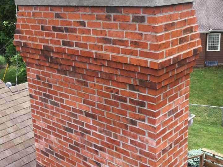 FSC-Brick chimney rebuild