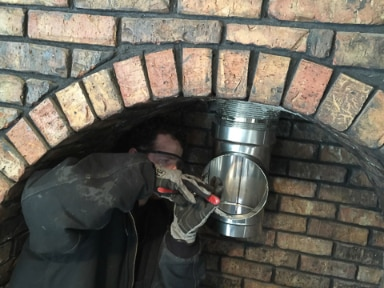 Fireplace Repair Wood Stove Liner Installation