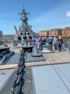 USS Wisconsin Battleship Tour
