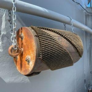 NCSG2019-2257 USS Wisconsin Barrel Brush