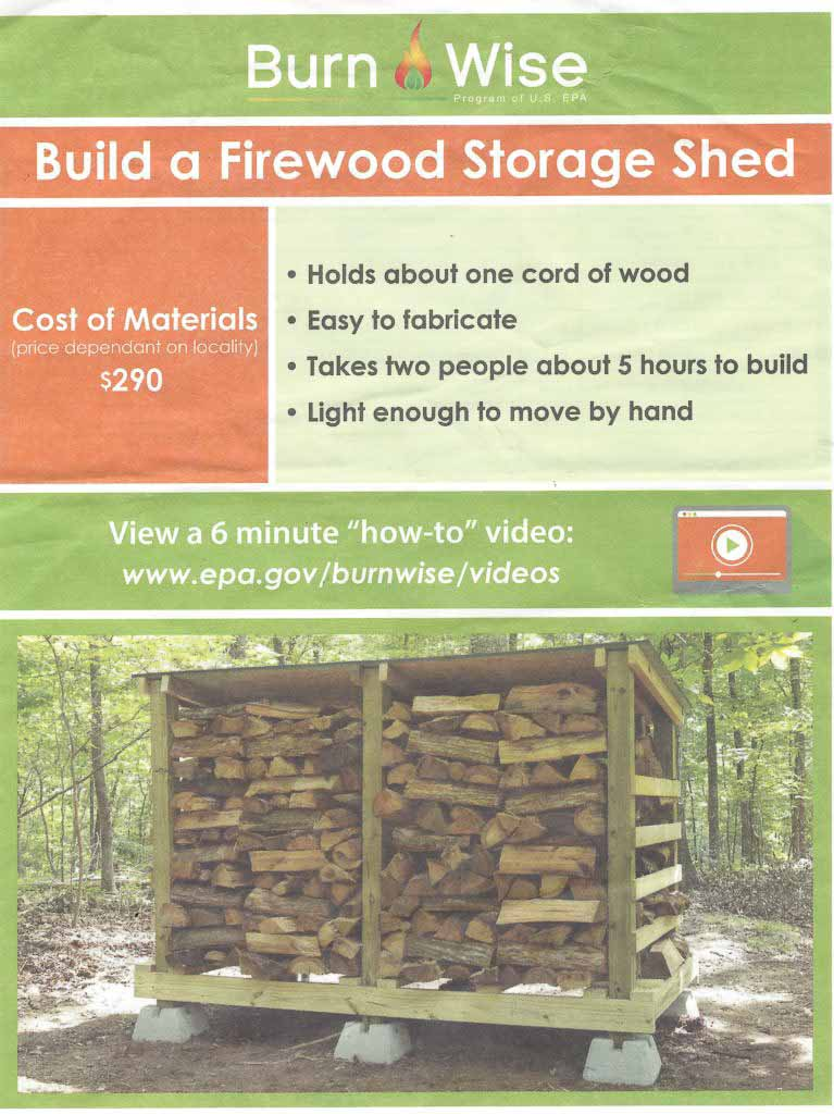 How Much Does it Cost to Build a Firewood Storage Shed