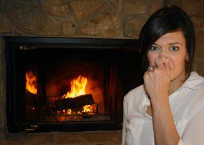 Fireplace Odor