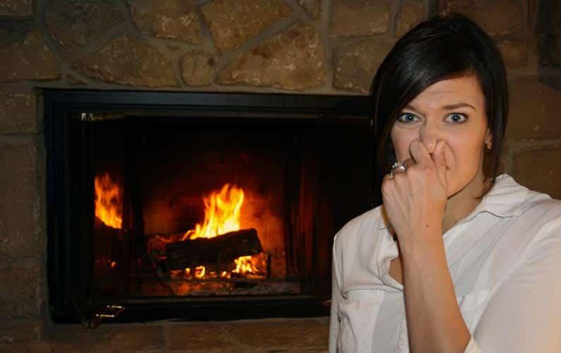 Fireplace Backdraft Chimney Downdraft Cause Stinky Smoky Problems