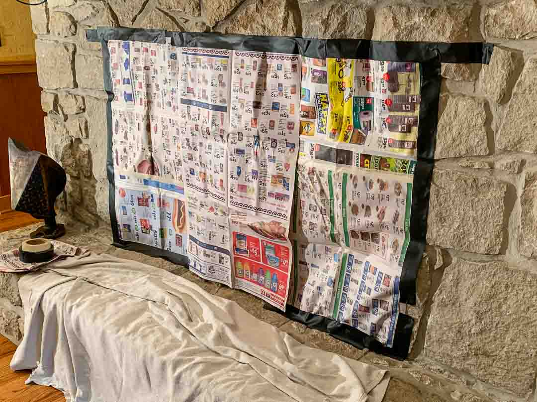 Stop Chimney Downdrafts Newspaper Testing
