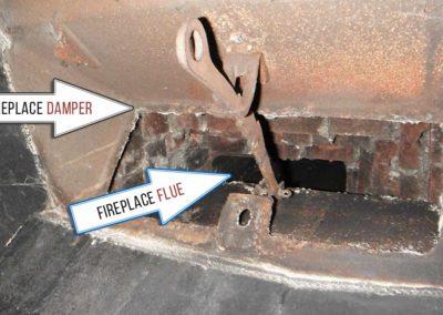 Fireplace Damper vs Fireplace Flue