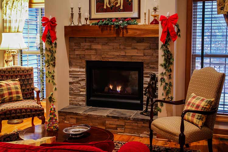 How to Decorate Your Fireplace Safely