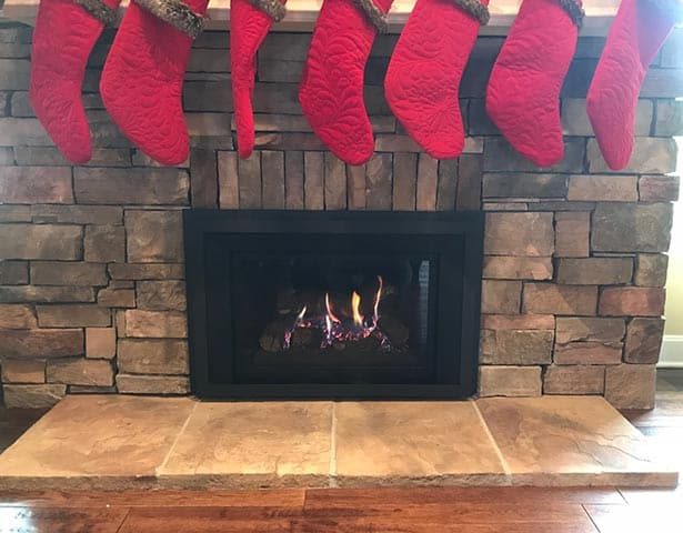Hanging Christmas Fireplace Stockings Safely