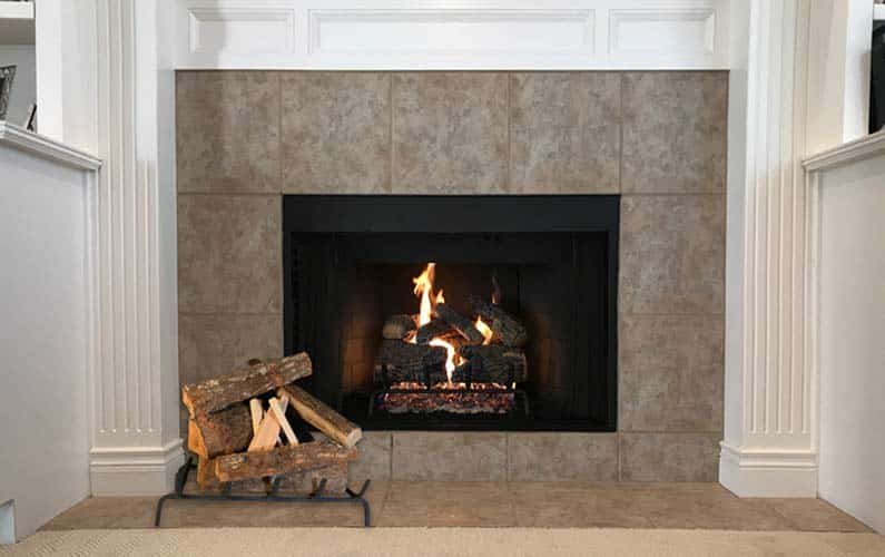 Convert Gas to Wood Fireplace