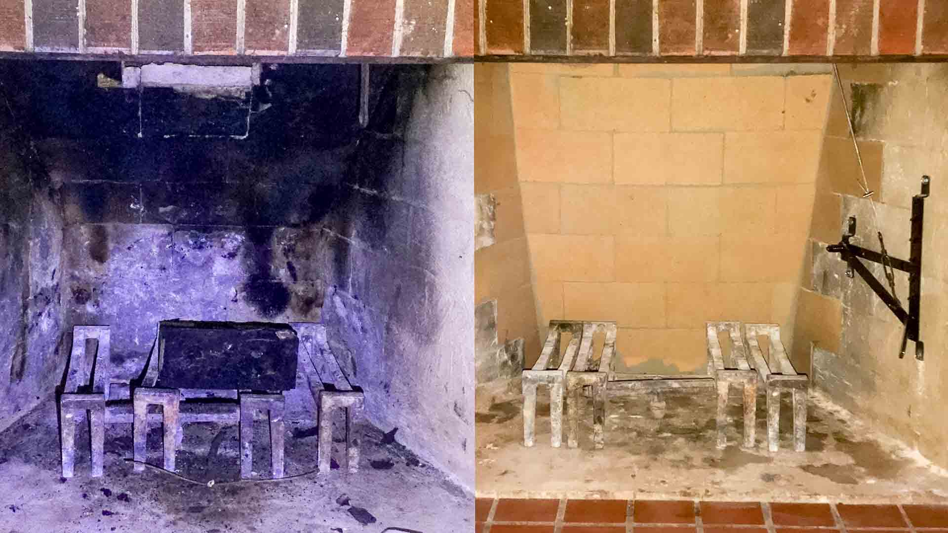 Brick Fireplace Repair Firebox