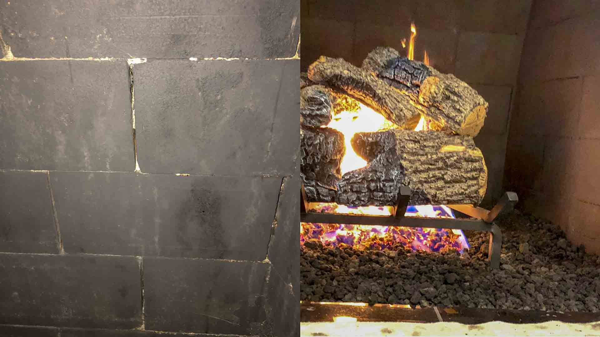Gas Logs Fireplace Repair Firebox