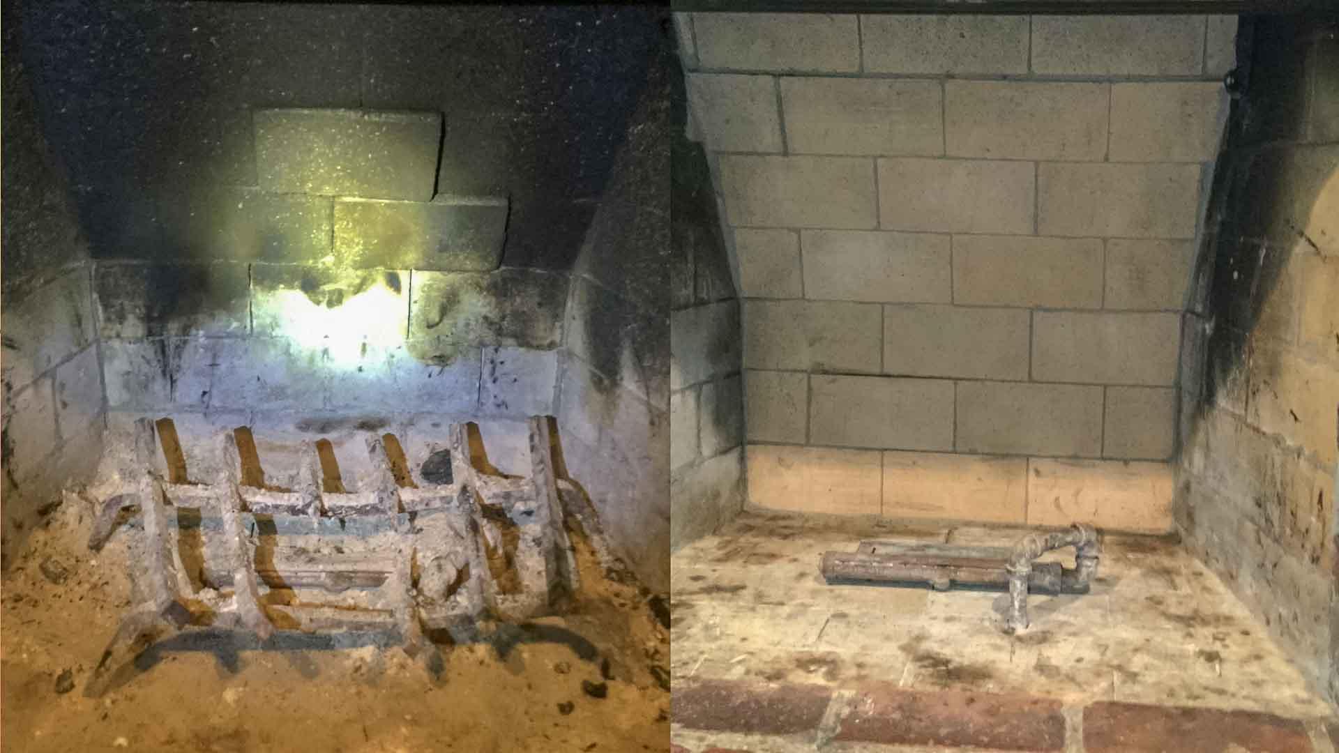 Gas Fireplace Repair Firebox